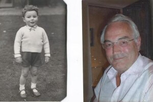 Dick Page - then and now!