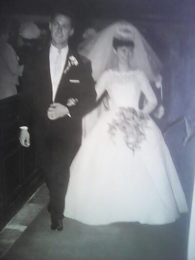 Barbara and husband Leslie Alan Phillips, both born at Shardeloes